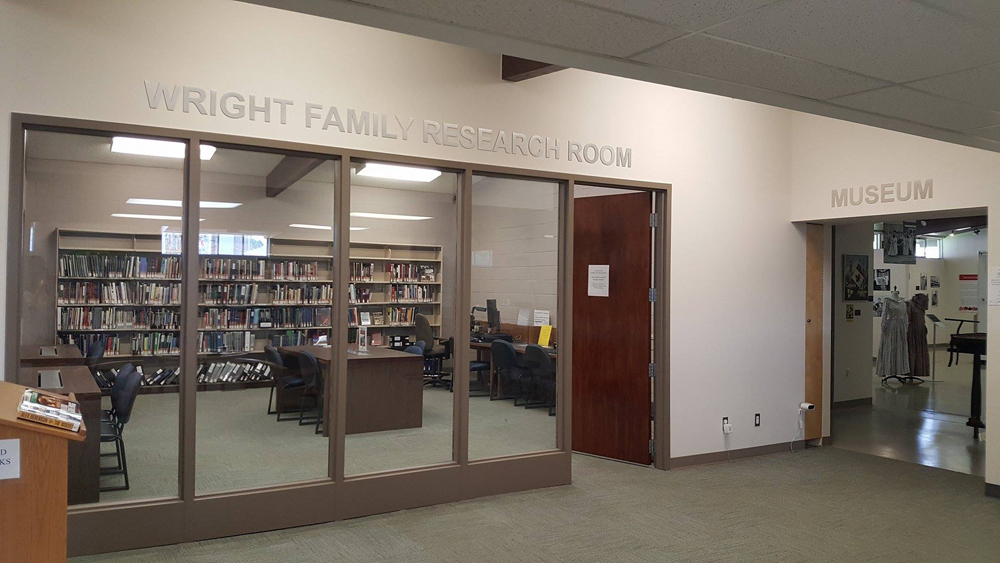 Wright Family Research Room